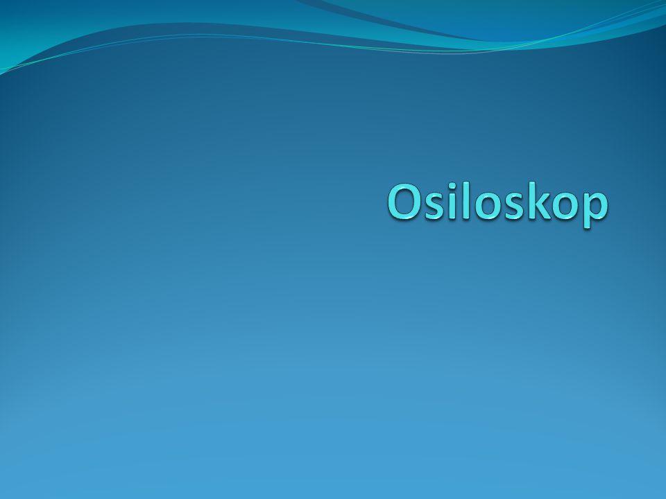 Osiloskop