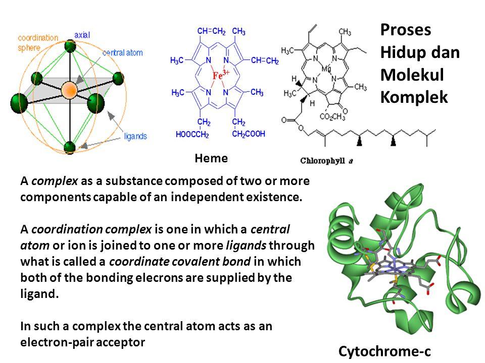Proses Hidup dan Molekul Komplek