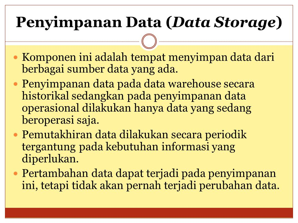 Penyimpanan Data (Data Storage)