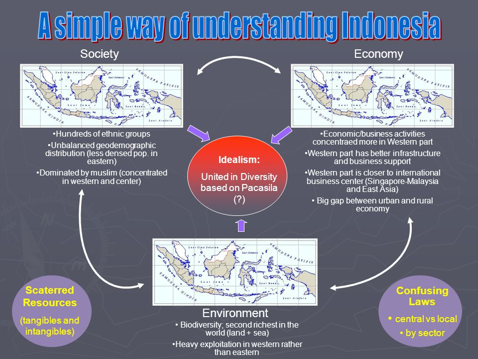 A simple way of understanding Indonesia