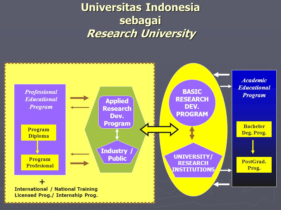 Universitas Indonesia sebagai Research University