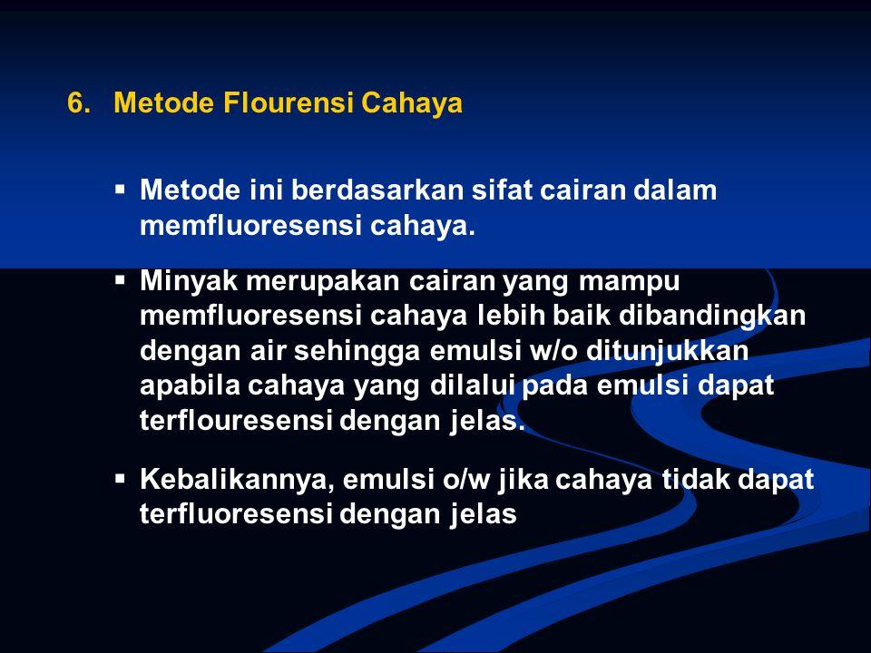 6. Metode Flourensi Cahaya