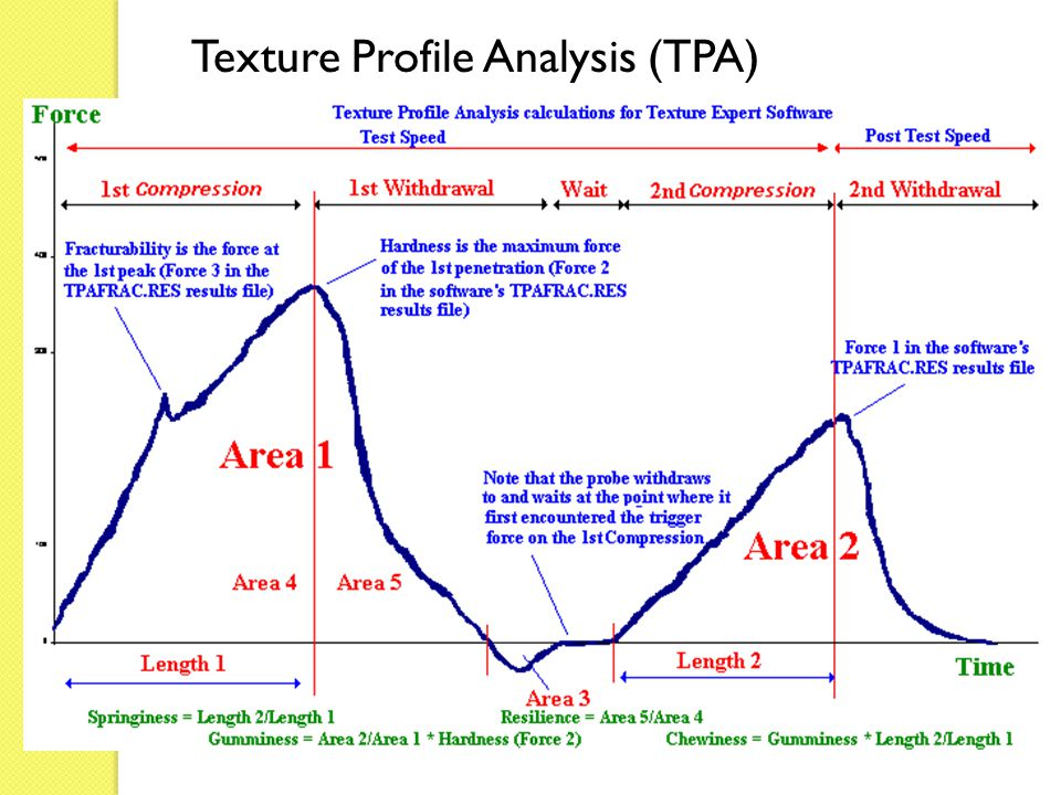 Texture Profile Analysis (TPA)