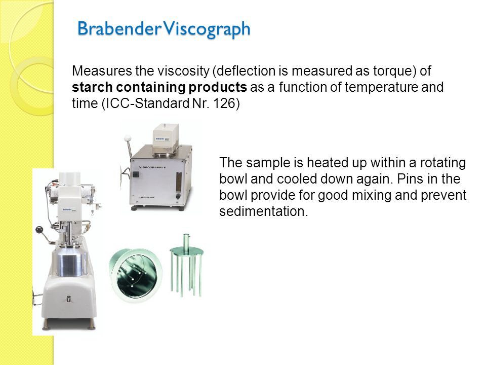 Brabender Viscograph
