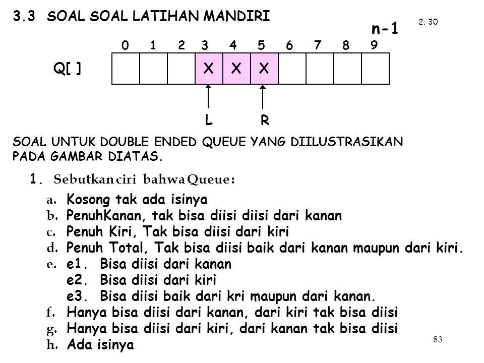 3.3 SOAL SOAL LATIHAN MANDIRI