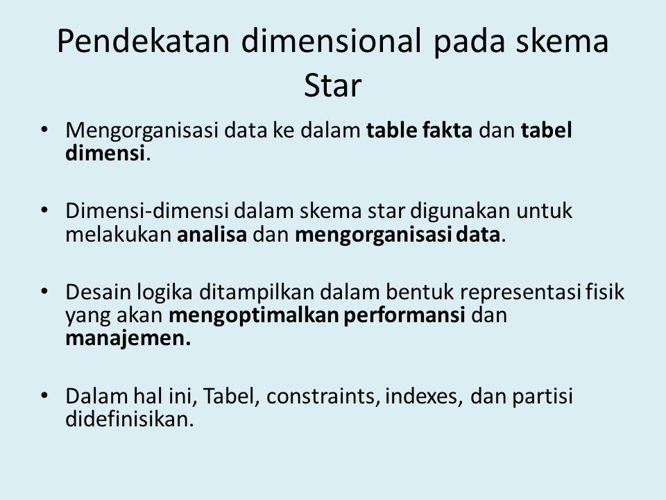 Pendekatan dimensional pada skema Star