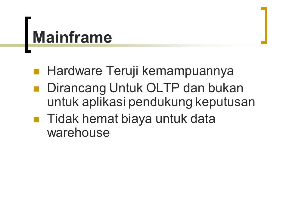 Mainframe Hardware Teruji kemampuannya