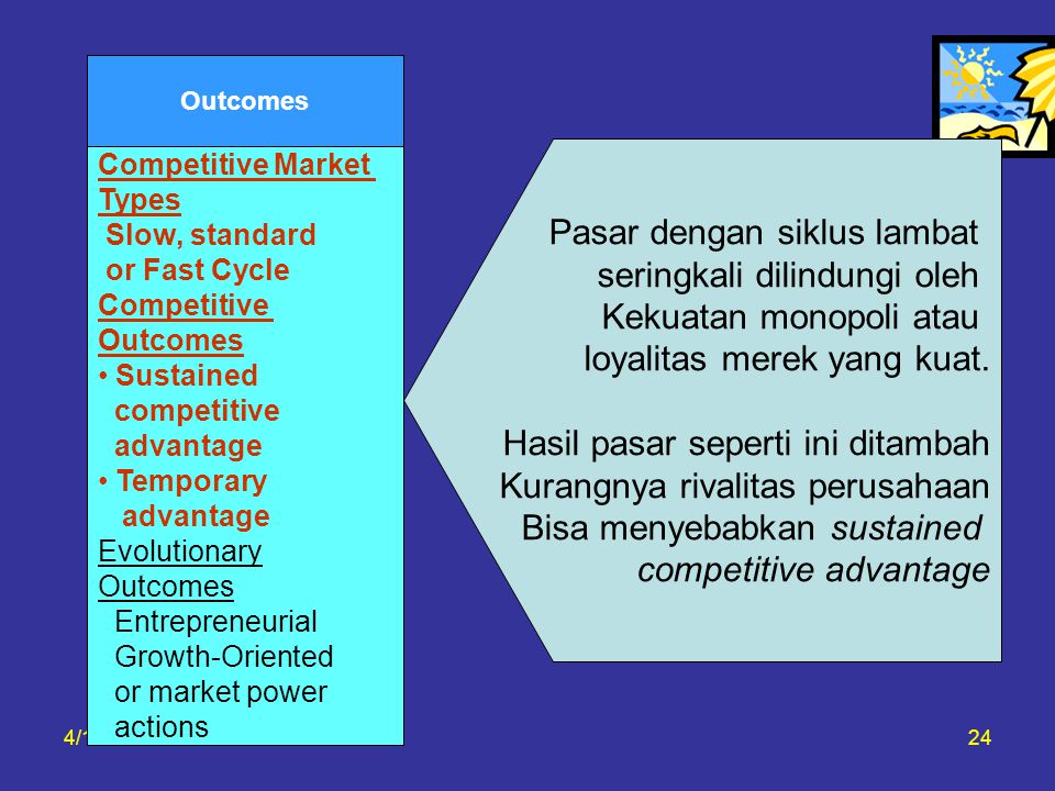 Pasar dengan siklus lambat seringkali dilindungi oleh