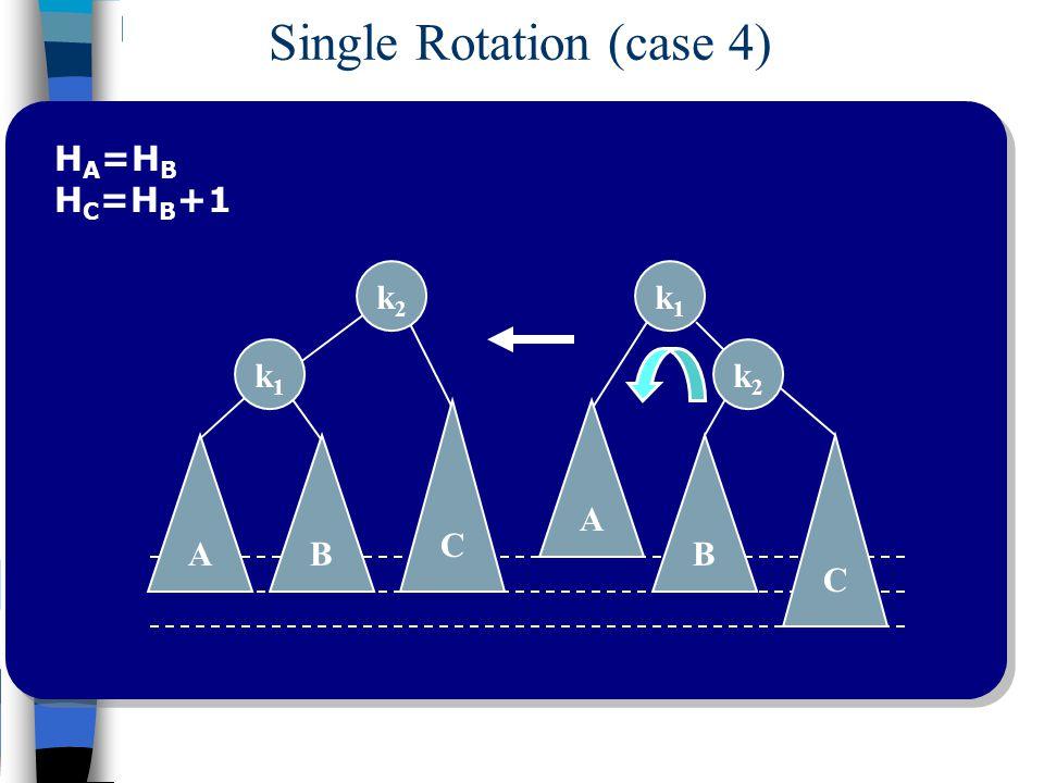 Single Rotation (case 4)