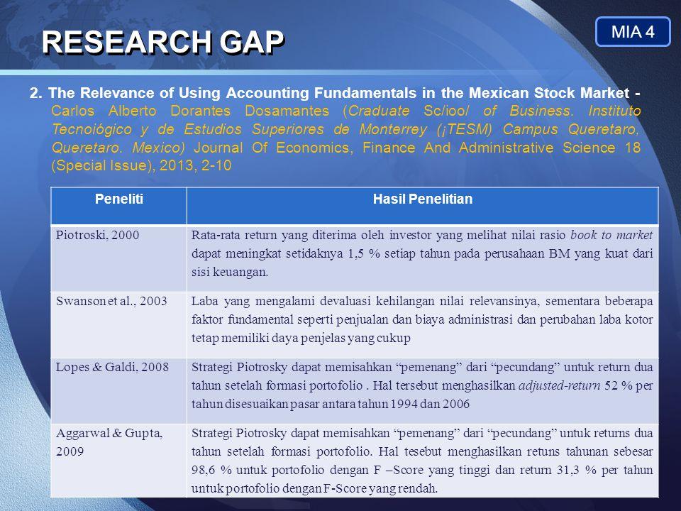 RESEARCH GAP MIA 4.