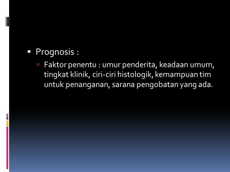 Prognosis :