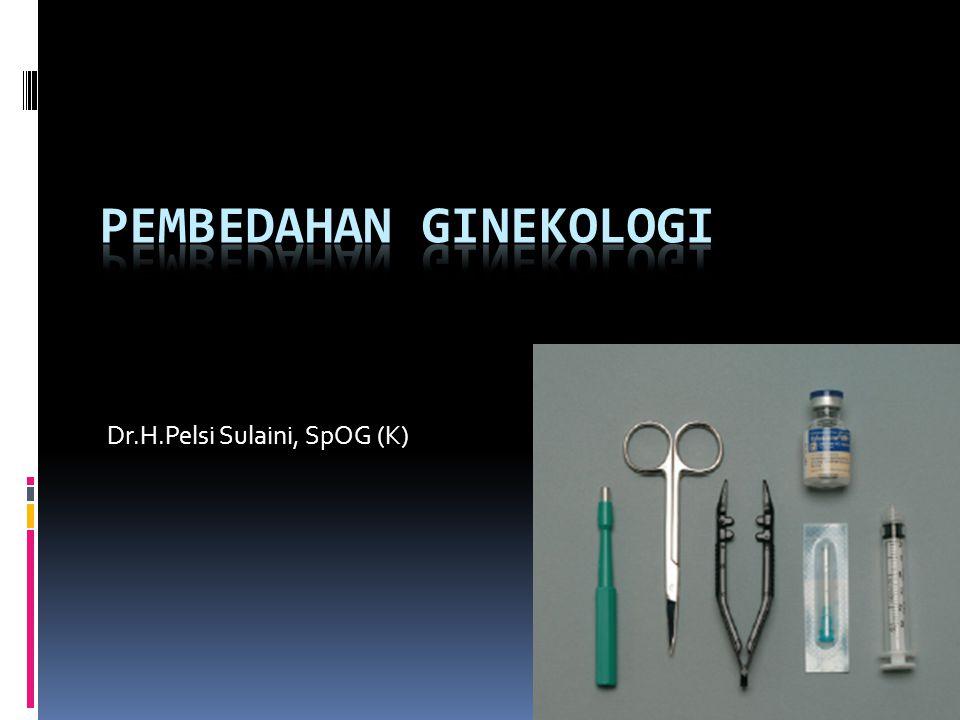 Pembedahan Ginekologi