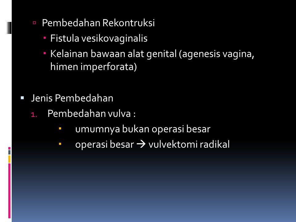 Pembedahan Rekontruksi