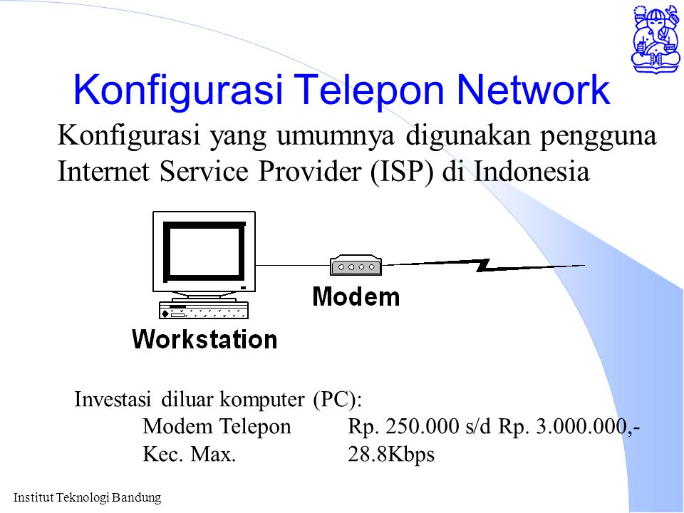 Konfigurasi Telepon Network