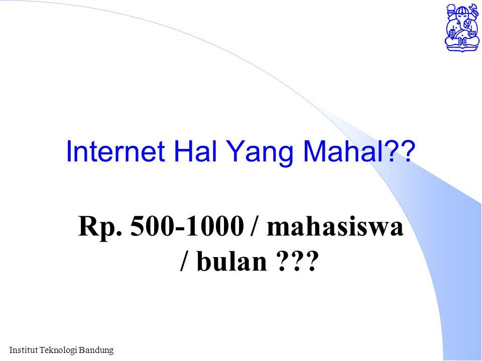 Internet Hal Yang Mahal