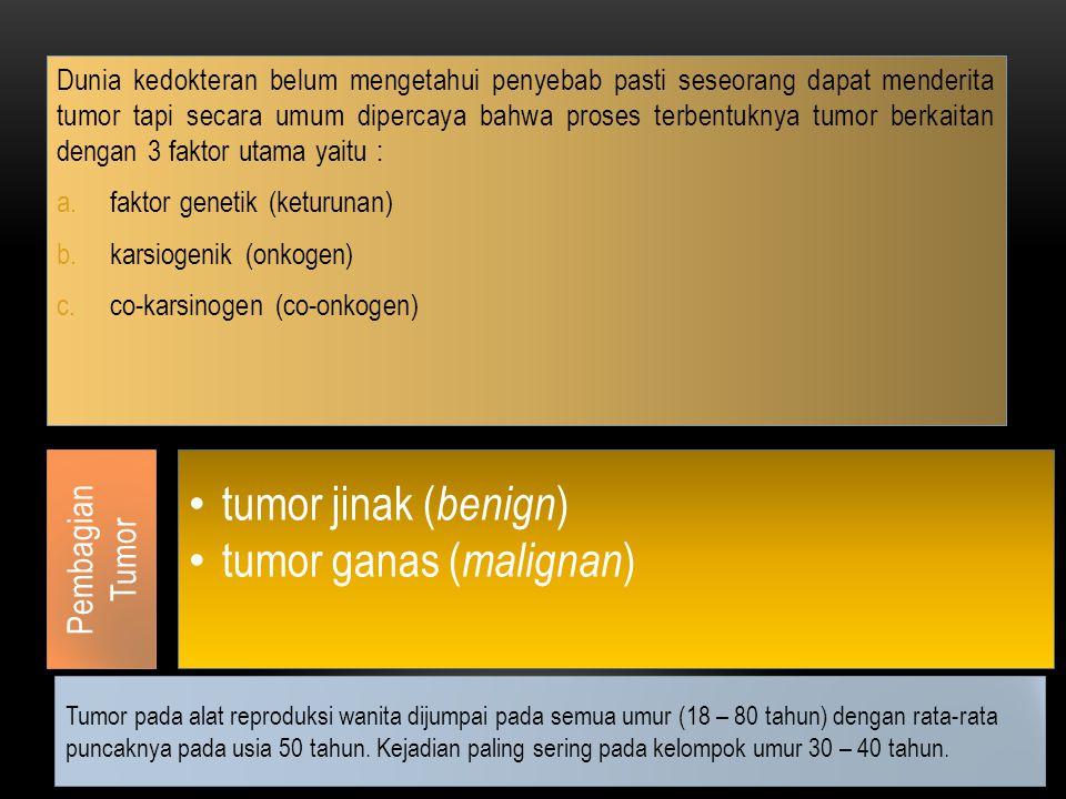 tumor ganas (malignan)