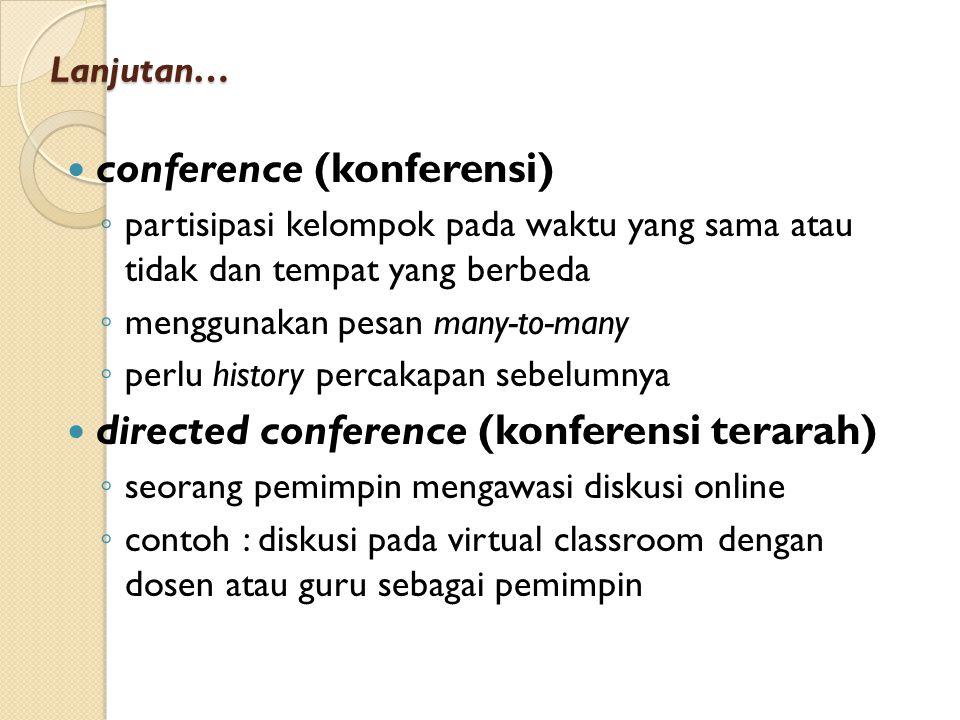 conference (konferensi)