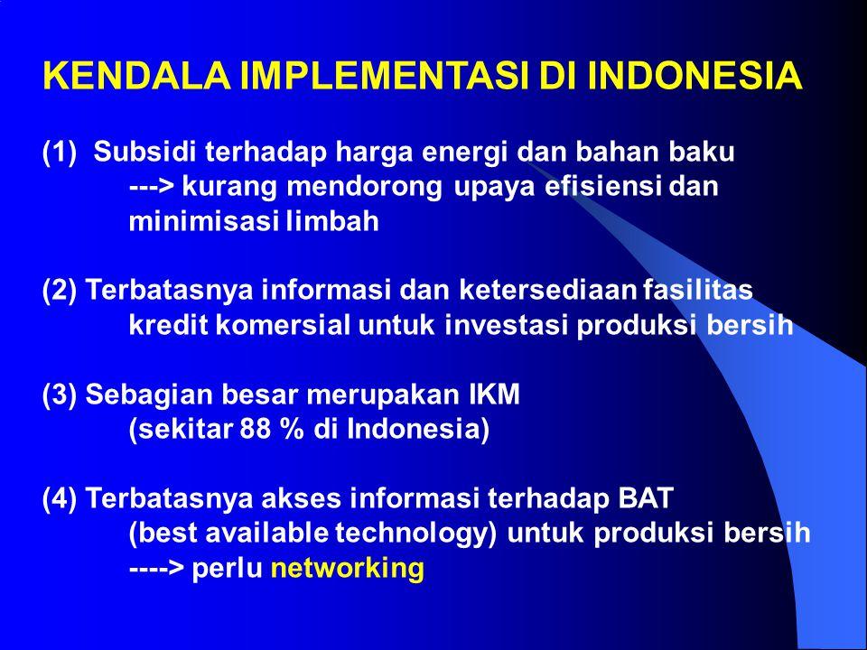 KENDALA IMPLEMENTASI DI INDONESIA