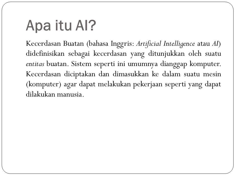 Apa itu AI