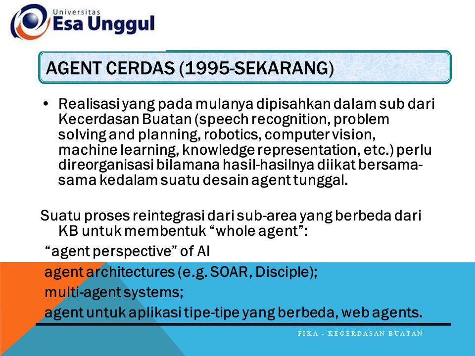 Agent Cerdas (1995-sekarang)