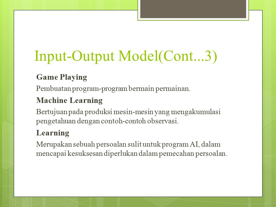 Input-Output Model(Cont...3)