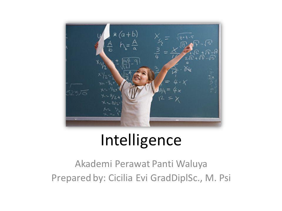 Intelligence Akademi Perawat Panti Waluya