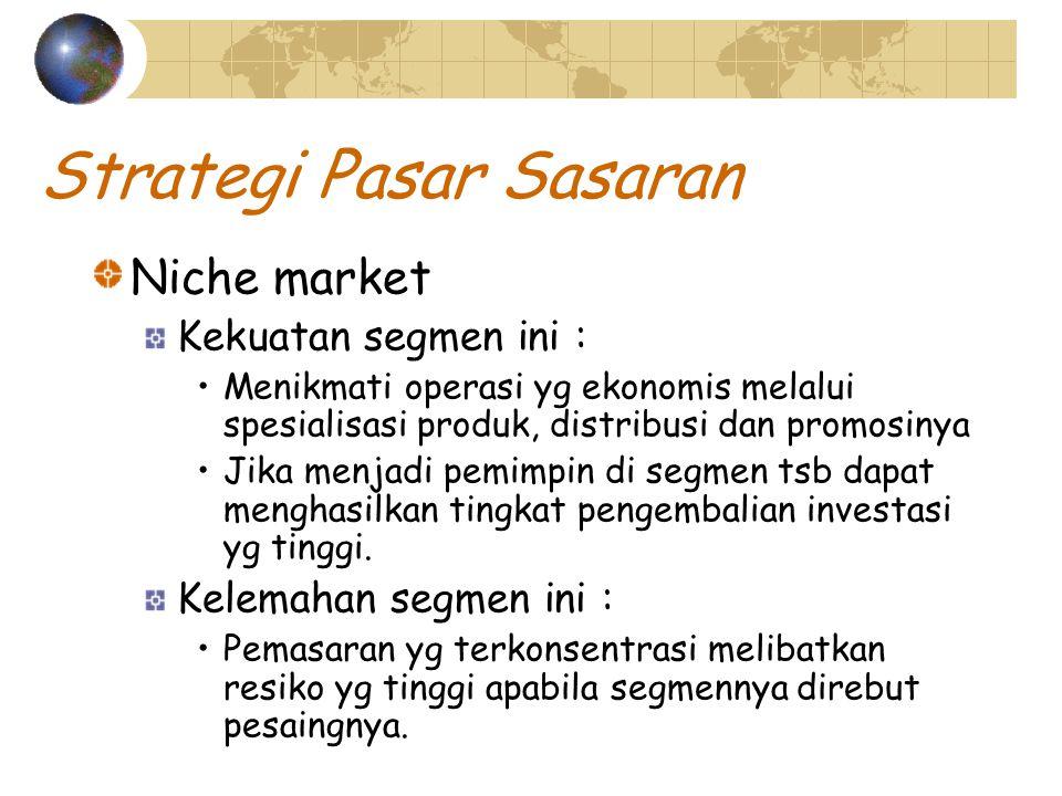 Strategi Pasar Sasaran