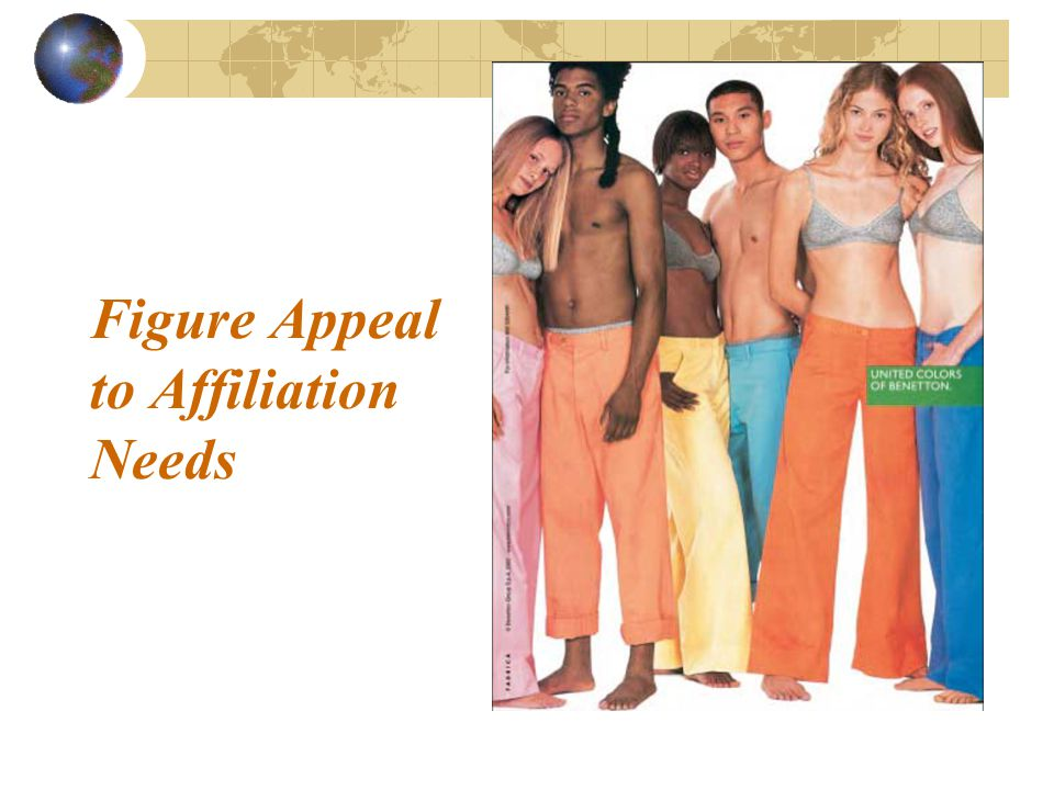 Figure Appeal to Affiliation Needs