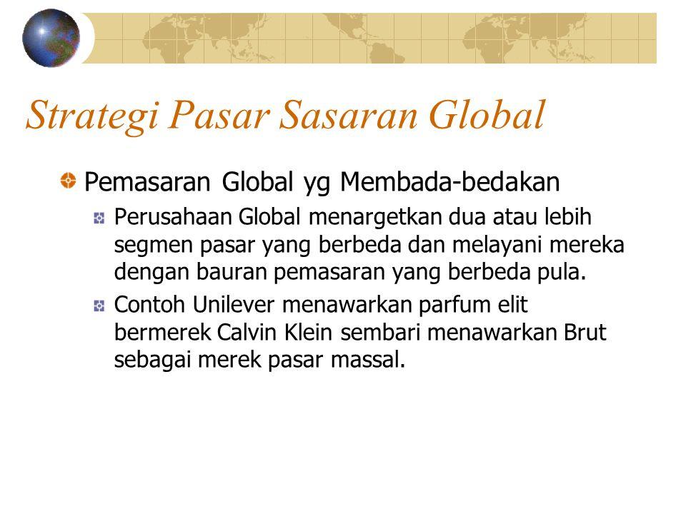 Strategi Pasar Sasaran Global