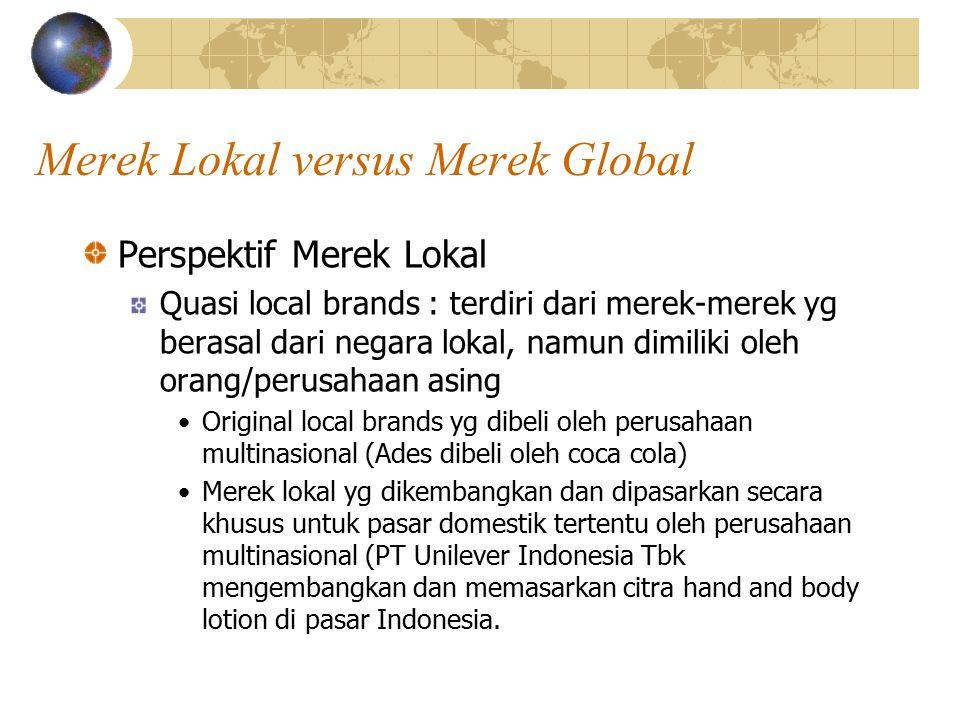 Merek Lokal versus Merek Global