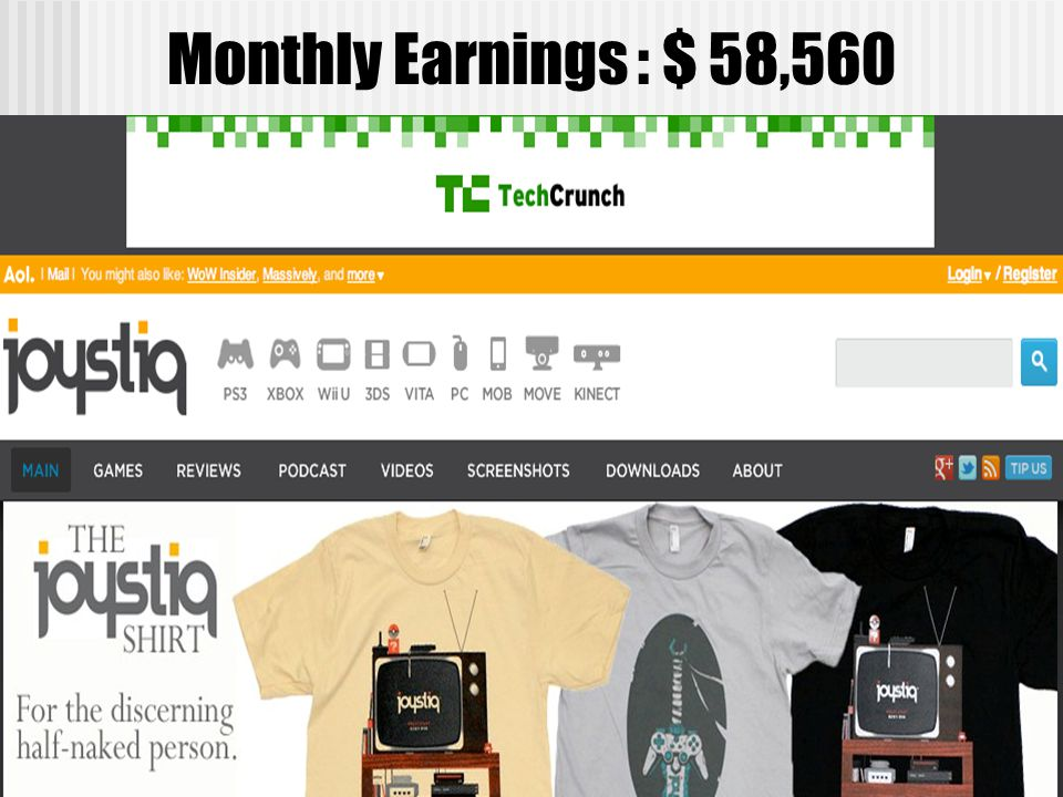 Monthly Earnings : $ 58,560