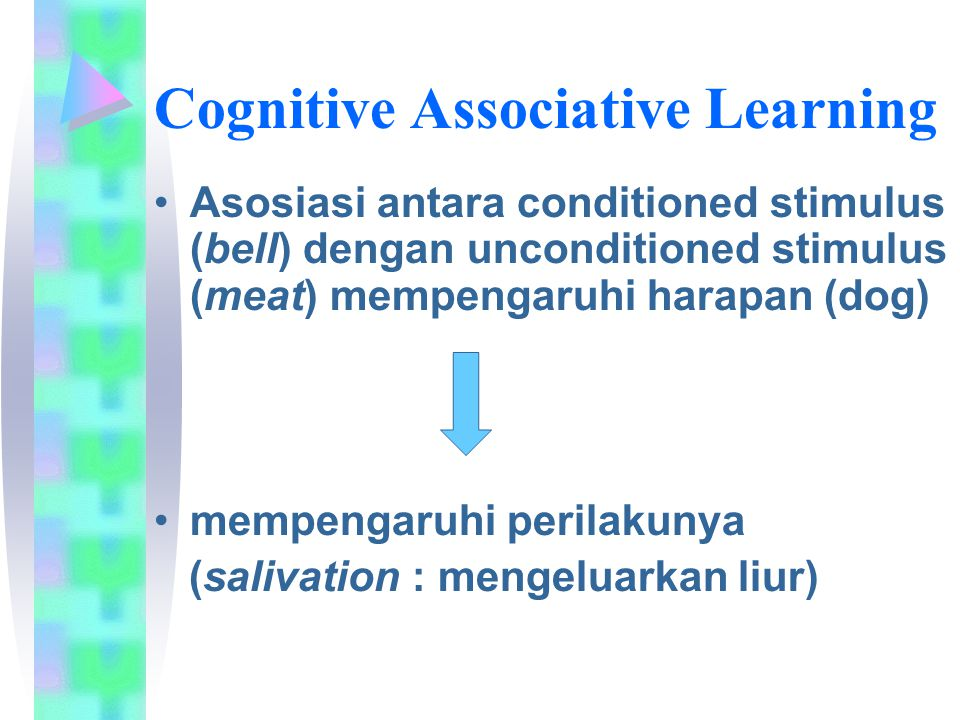 Cognitive Associative Learning