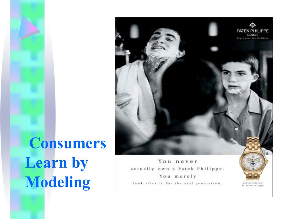 Consumers Learn by Modeling