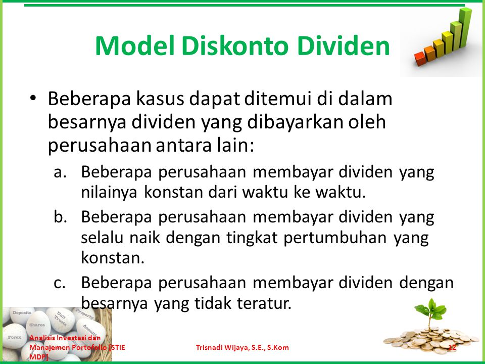 Model Diskonto Dividen