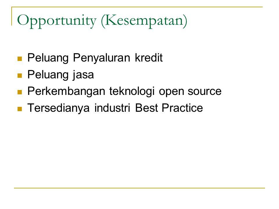 Opportunity (Kesempatan)