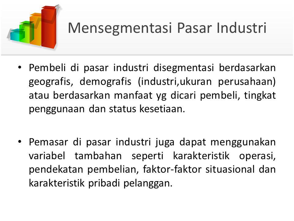 Mensegmentasi Pasar Industri