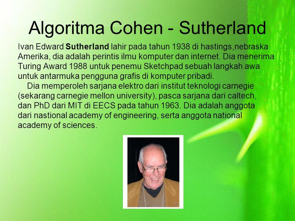 Algoritma Cohen - Sutherland