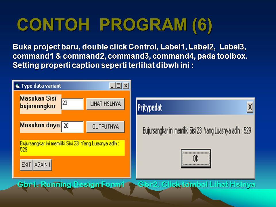 CONTOH PROGRAM (6)