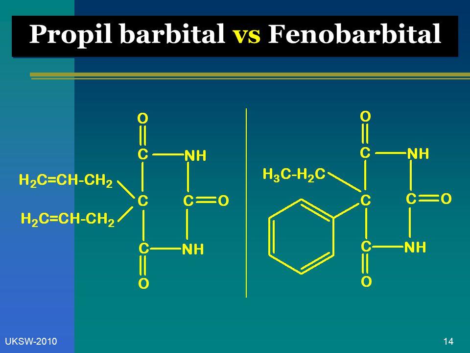 Propil barbital vs Fenobarbital