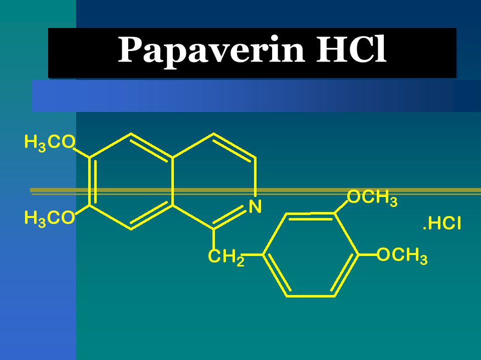 Papaverin HCl