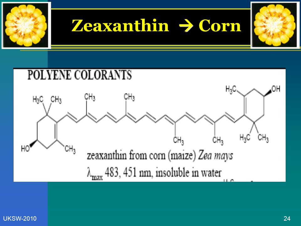 Zeaxanthin  Corn UKSW-2010