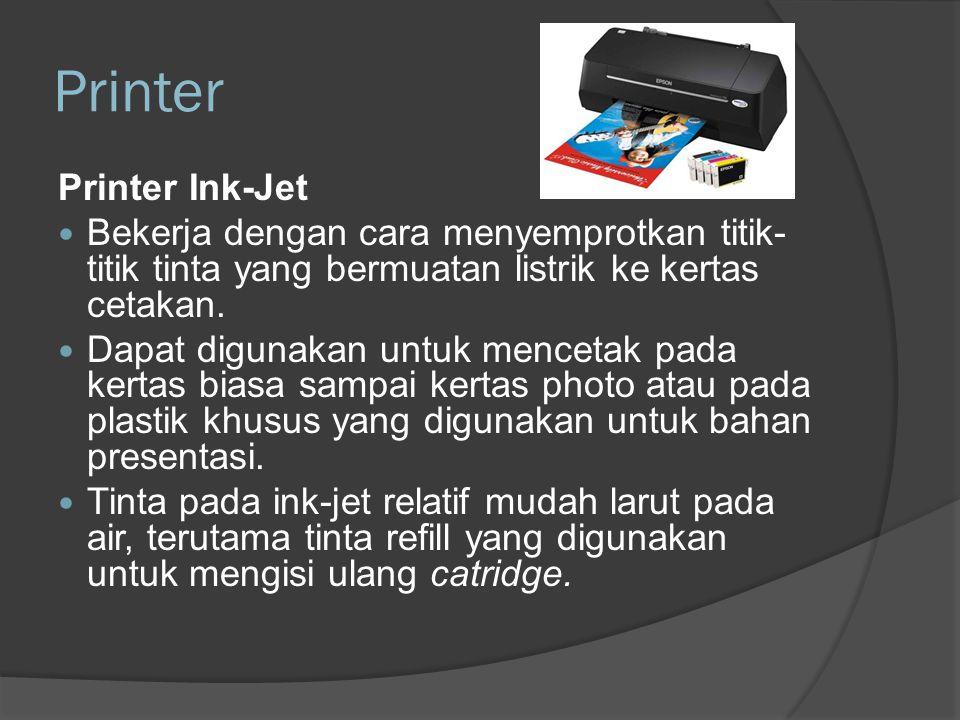 Printer Printer Ink-Jet