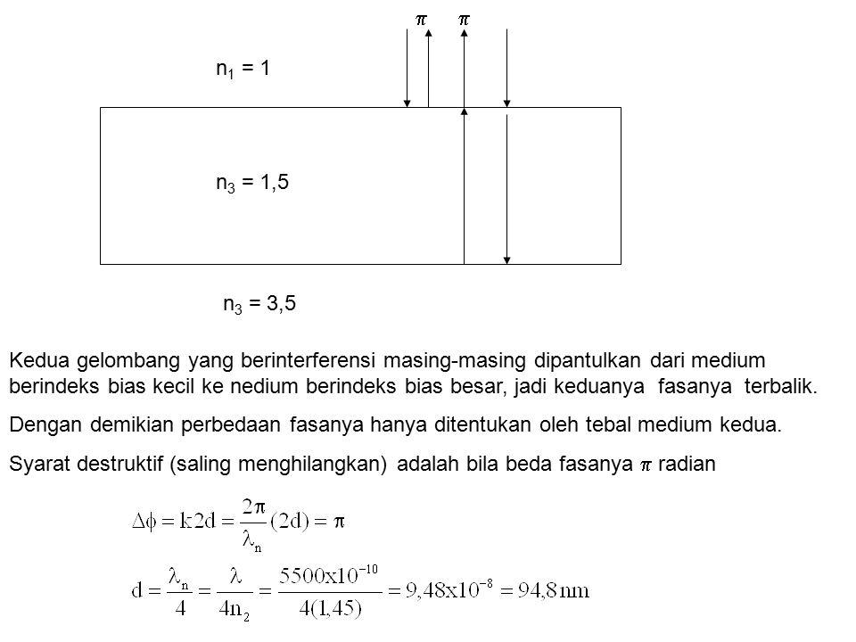 n1 = 1 n3 = 3,5. n3 = 1,5. 