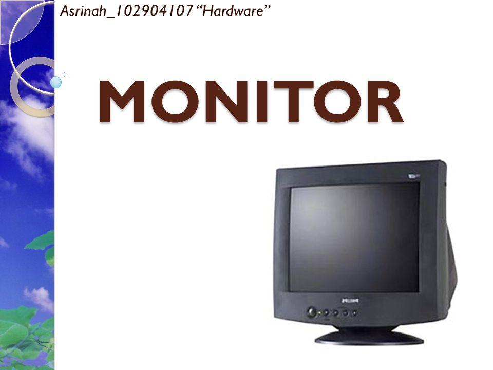 Asrinah_102904107 Hardware MONITOR
