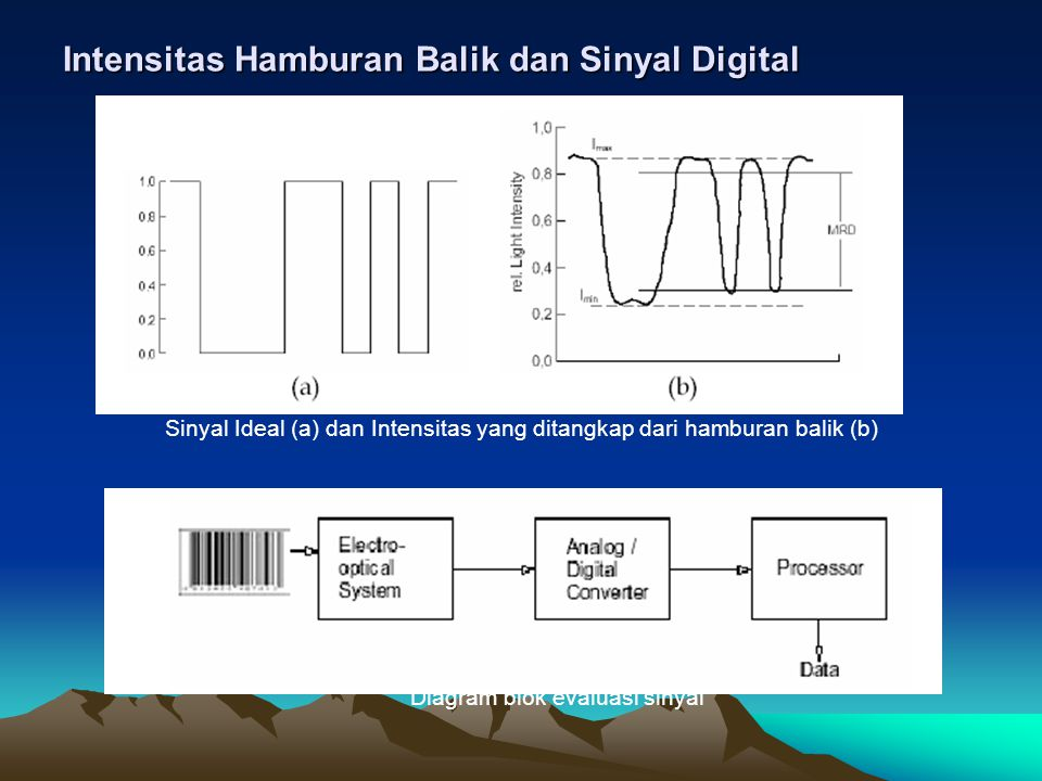 Intensitas Hamburan Balik dan Sinyal Digital