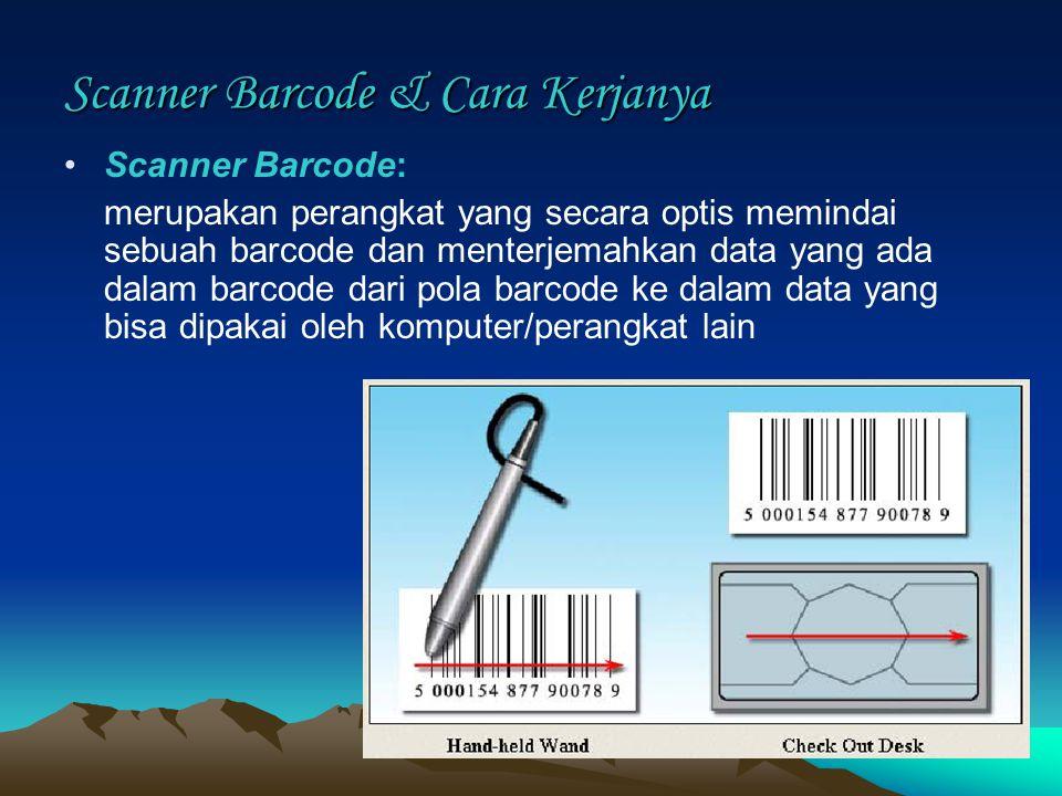 Scanner Barcode & Cara Kerjanya