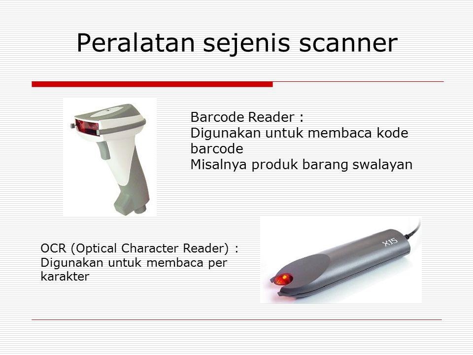 Peralatan sejenis scanner
