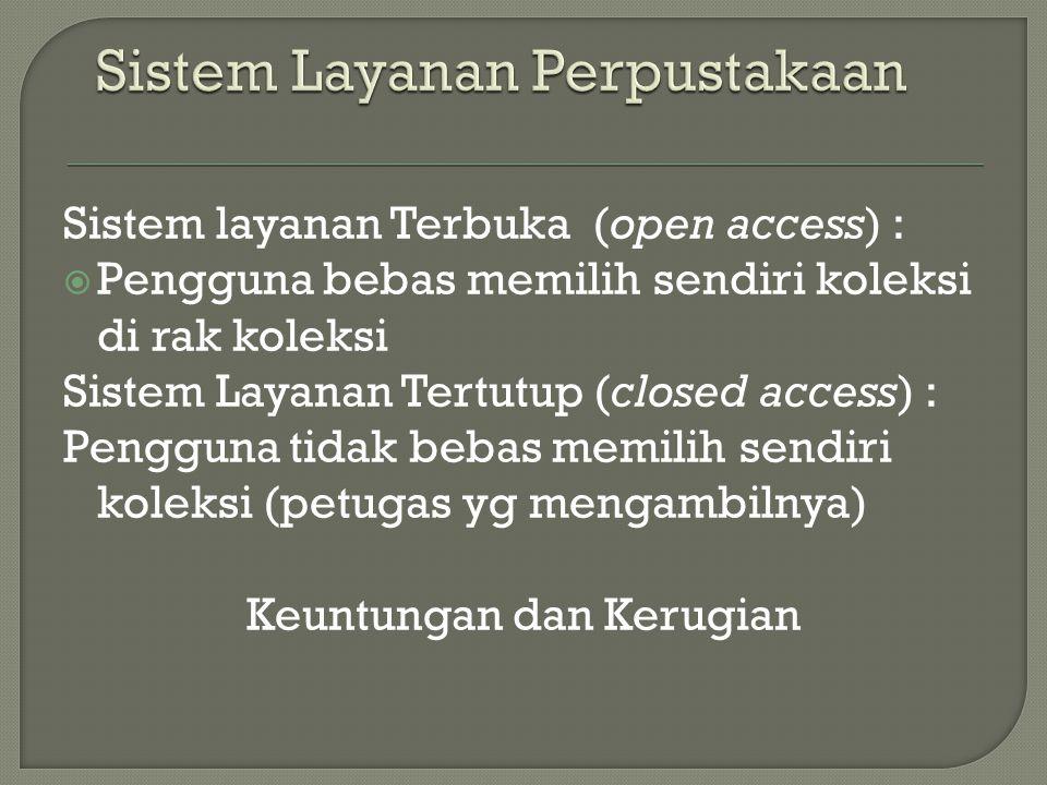 Sistem Layanan Perpustakaan