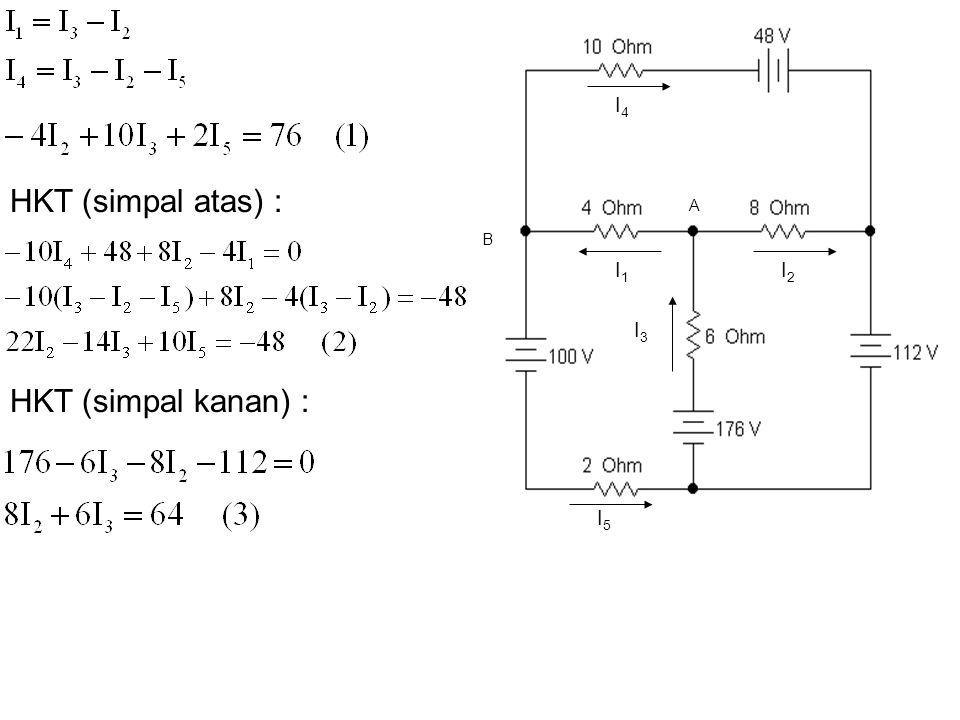 I4 HKT (simpal atas) : A B I1 I2 I3 HKT (simpal kanan) : I5