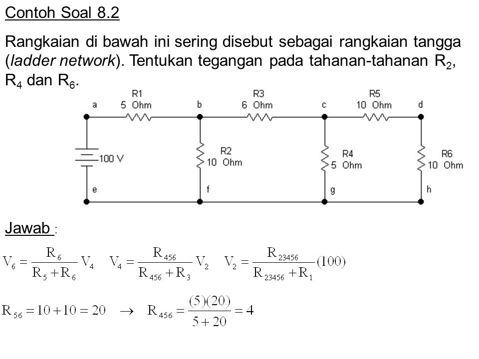 Contoh Soal 8.2